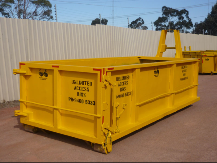 business on skip bins